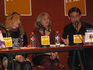 """Presentación de """"El cuadro inacabado"""" en FNAC Valencia el 15 de Enero de 2015."""