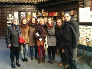 Paseo Literario por Madrid. Curso de Escritura Creativa 2014 - 2015.
